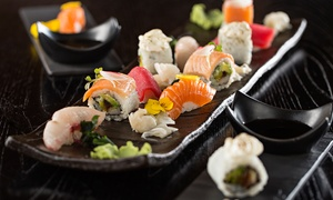 Kanpai Restaurant & Lounge: 24- or 48-Piece Sushi Platter with Soft or Grape Beverage at Kanpai Restaurant & Lounge (Up to 59% Off)