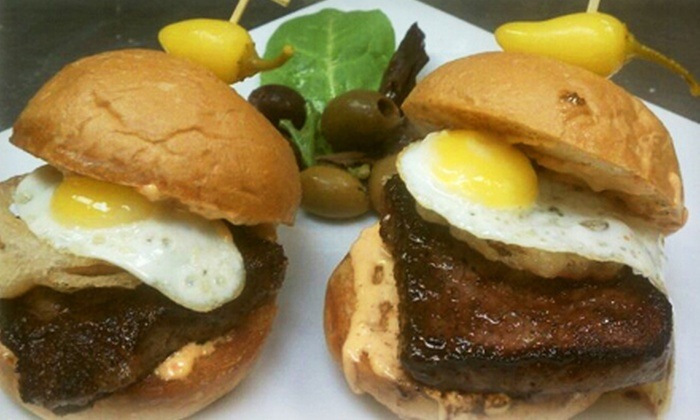 Luxy 101 - Rowland Heights: Gourmet Pub Meal for Two or Four with Beers or Cocktails at Luxy 101 (Up to 54% Off)