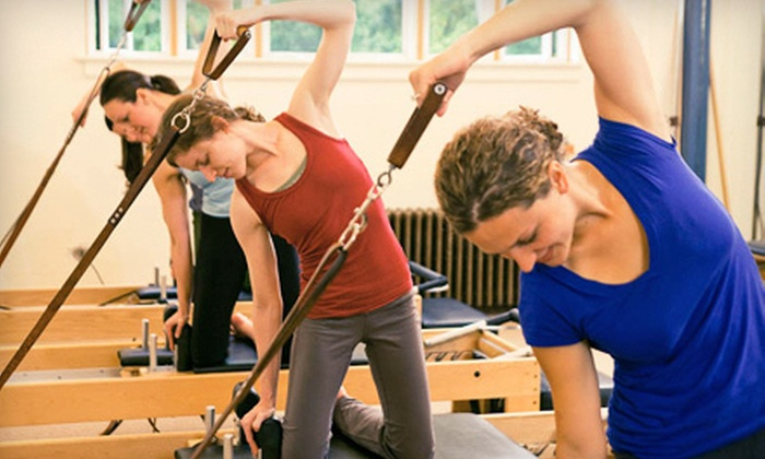 Vitality Pilates Studio - Multiple Locations: 4 or 10 Semiprivate or Group Classes at Vitality Pilates Studio (Up to 79% Off)