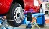 Wheel Alignment, Headlight Alignment & Tyre check up