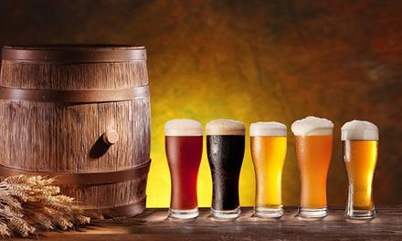 Lote de cinco cervezas artesanas de Girona, Toledo y Madrid por 16,95 €