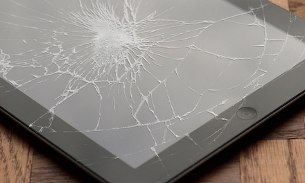 Screen Repair for an iPad, Samsung Galaxy S3 or S4, or iPhone 4, 4S, 5, or 5S at Cool Geeks LLC (Up to 52% Off)