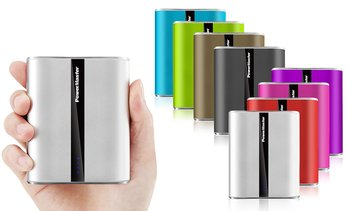 Power Master 12,000mAh LED Dual-USB Power Bank