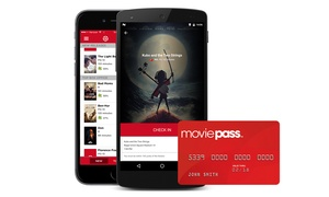 MoviePass: Movie Theater Ticket Subscription Plans from MoviePass (Up to 44% Off). Four Options Available.