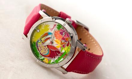 e0781b58ab85 Reloj Bertha Gisele con correa de piel genuina para mujer ...