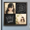 Up to 71% Off a Custom Chalkboard Wood Print