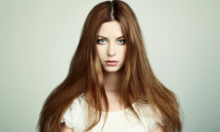 Alex Castanedo at Hair Image Life Design - Mission Valley East: Keratin Deep Conditioning Treatment with Optional Haircut from Alex Castanedo at Hair Image Life Design (Up to 53% Off)