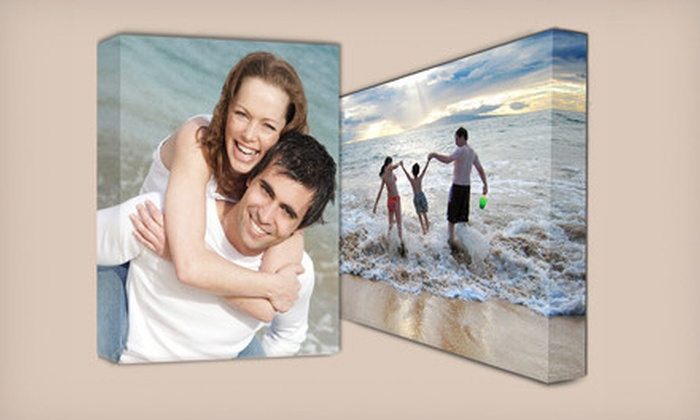 "Gallery-Wrapped Canvases: One or Two 16""x20"" Custom Gallery-Wrapped Canvases from Picture It On Canvas (Up to 75% Off). Shipping Included."