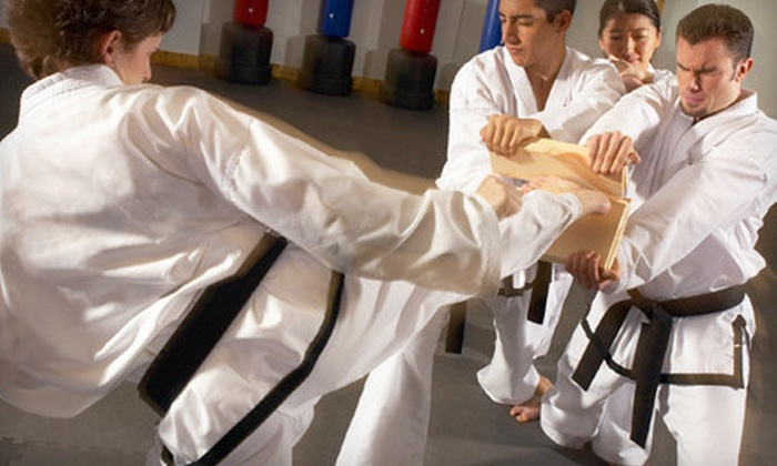 Family Tae Kwon Do - West Jordan: 5 or 10 Classes with Uniform at Family Tae Kwon Do (Up to 79% Off)