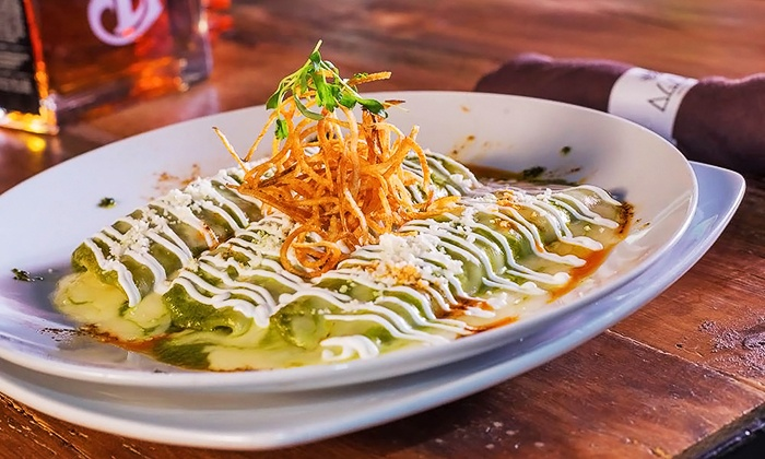 Agaves Kitchen & Tequila - Downtown Long Beach: Contemporary Mexican Cuisine at Agaves Kitchen & Tequila (Up to 50% Off). Three Options Available.