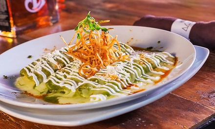 Contemporary Mexican Cuisine at Agaves Kitchen & Tequila (Up to 50% Off). Three Options Available.