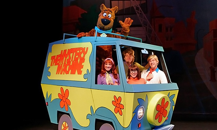 """Scooby-Doo Live! Musical Mysteries - Rosemont Theatre: """"Scooby-Doo Live! Musical Mysteries"""" at Rosemont Theatre on Saturday, May 3, at 1 p.m. or 4 p.m. (Up to 30% Off)"""