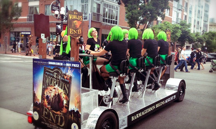 City Cruiser - San Diego: Pub-Crawl Bike Tour for Up to Two, Four, or Six from City Cruiser (Up to 52% Off)