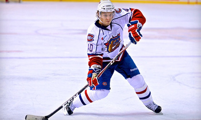 Hamilton Bulldogs - Central Hamilton: Hamilton Bulldogs Game for Two at Copps Coliseum on April 12 or 14 (Up to 52% Off)