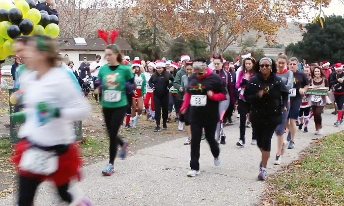 Naughty or Nice 5k Fun Run - Hilliard County Park: Race Admission for One, Two, or Four to Naughty or Nice 5k Fun Run on December 6 (Up to 56% Off)