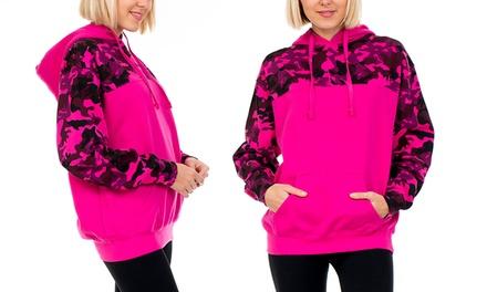 Women's Long-Sleeve Camouflage Hoodie