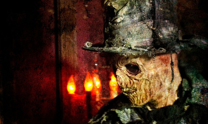 The Asylum Haunted House - Park Hill: $19 for One VIP Fast Pass to The Asylum Haunted House and Primitive Fear Haunted House ($35 Value)