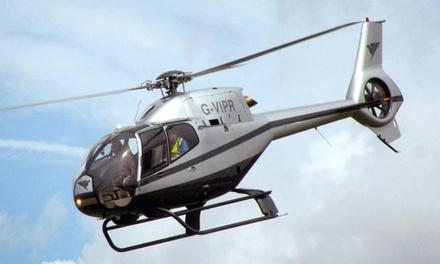 Helikopter Experience voor 1, 2 of 4 personen incl. rit op een SegWay bij Heliwens