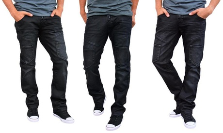 Scotch & Soul Men's Slim-Fit European Fashion Jeans