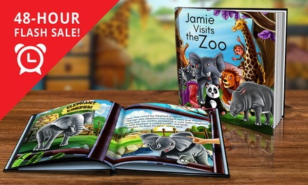 Dinkleboo Personalised Children's Storybook in Soft .95 or Hardcover .95 Don't Pay up to $79.98