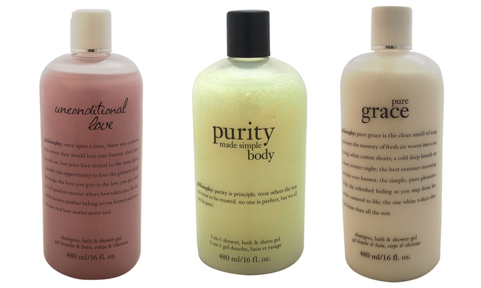 Philosophy Shampoo, Bath, and Shower Gels