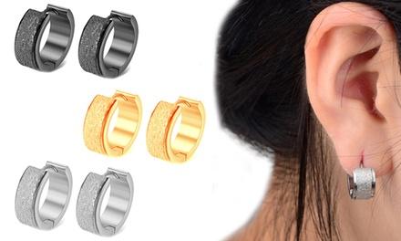 Freya Hoop-Ohrringe in der Farbe nach Wahl (57% sparen*)