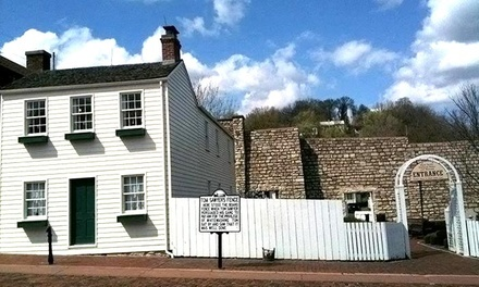 Mark Twain Boyhood Home & Museum Visit for Two or Four or a One-Year  Membership (Up to 51% Off)