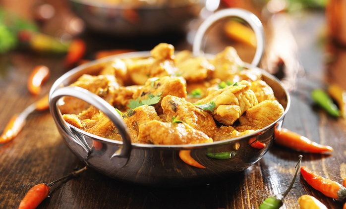£50 or £100 Spend on Indian Food and Drinks at Moti Mahal (50% Off)