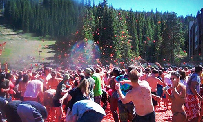 Tomato Assault - Vallejo: Tomato Fight for One or Two from Tomato Assault on Saturday, June 29, at the Solano County Fairgrounds (Up to 56% Off)