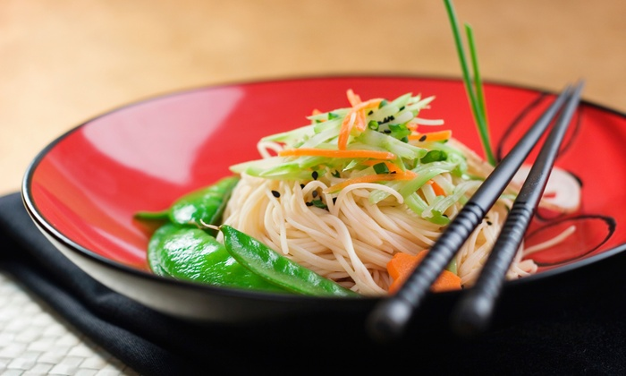 Summer Noodle & Rice - Summer Noodle & Rice: Thai Food for Two or Four or More at Summer Noodle & Rice (43% Off)