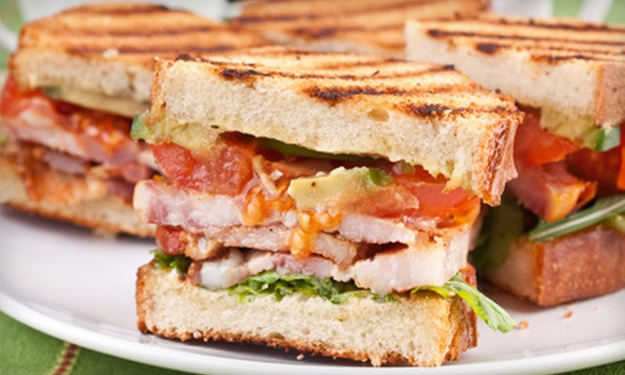 The Market Place Grill Cafe - Downey: Breakfast, Lunch, or Dinner Cuisine for Two or Four at The Market Place Grill Cafe (52% Off)