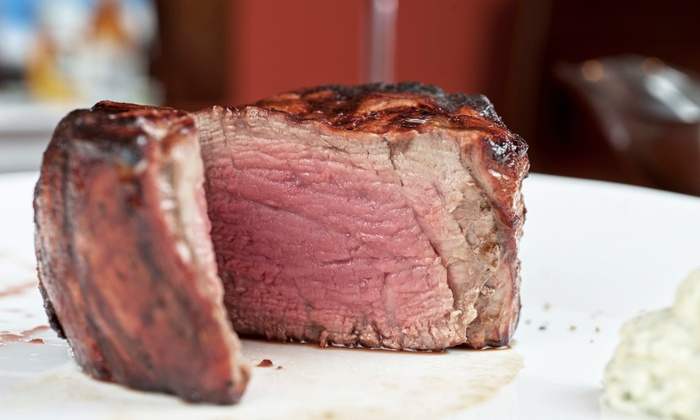 Chops - Northeast Virginia Beach: $25 for $45 Worth of Steaks and Seafood for Dinner at Chops