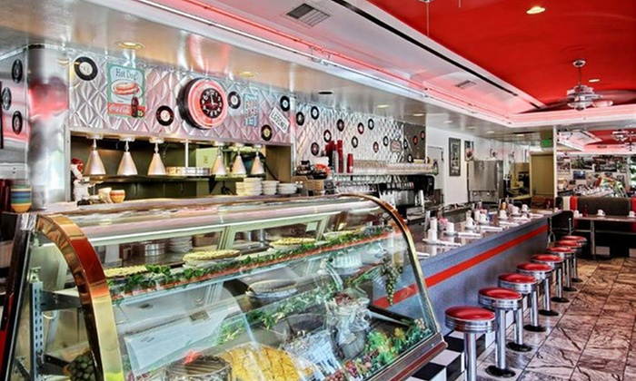The Diner of Los Gatos - Los Gatos: Breakfast, Lunch, or Dinner for Two or Four or More at The Diner of Los Gatos (Up to 38% Off)