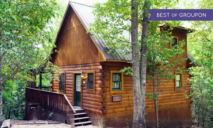 Mountain Vista Log Cabins - Bryson City, NC: 2-, 3-, or 4-Night Stay for Up to Four in a One- or Two-Bedroom Cabin at Mountain Vista Log Cabins in Bryson City, NC