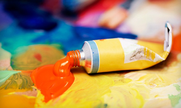 Let's Create Art - Lakewood: Two or Four Three-Hour Oil-Painting or Plein-Air Classes at Let's Create Art (Half Off)