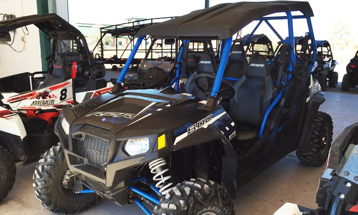 Adrenaline ATV Tours - North Las Vegas: Valley of Fire Polaris RZR ride along tour for One or Up to Three from Adrenaline ATV Tours (Up to 50% Off)