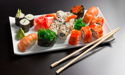 Asian Fare and Sushi for Two or Four at Chez Elena Wu Restaurant (46% Off)