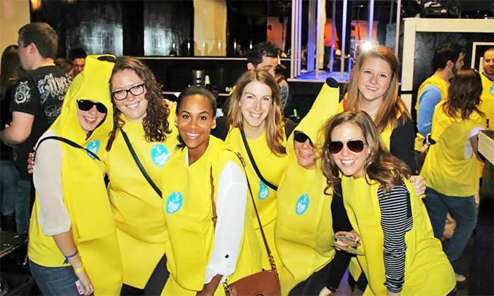 Charlotte's Banana Bar Crawl - Whisky River: One or Two VIP Tickets to Charlotte's Banana Bar Crawl (Up to 50% Off)