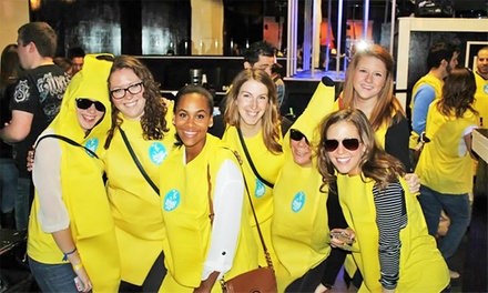 One or Two VIP Tickets to Charlotte's Banana Bar Crawl (Up to 50% Off)