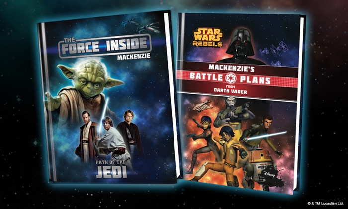 Put Me In The Story: Personalized Star Wars Kids Storybooks from Put Me In The Story (Up to 56% Off).