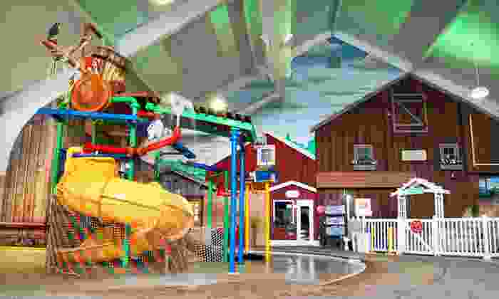 Clarion Inn and Wasserbahn Waterpark Resort - York: One-Night Stay at Clarion Inn Amana Colonies and Wasserbahn Waterpark Resort in the Amana Colonies, IA