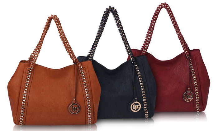 Handbag Republic Chain Hobo Bag | Groupon Goods