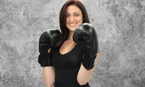 Innovative Kickboxing: Five or Ten Kickboxing Classes with Gloves at Innovative Kickboxing (Up to 78% Off)