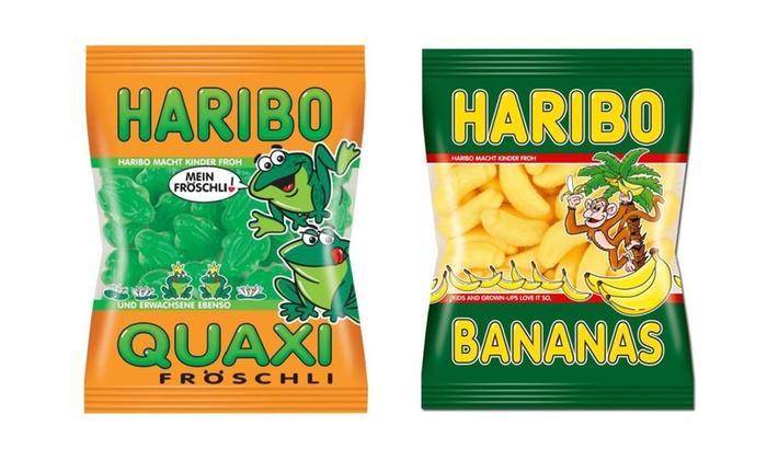 Groupon Goods Global GmbH: Lot de 2 ou 2,5 kg bonbons Haribo variés pour Haloween