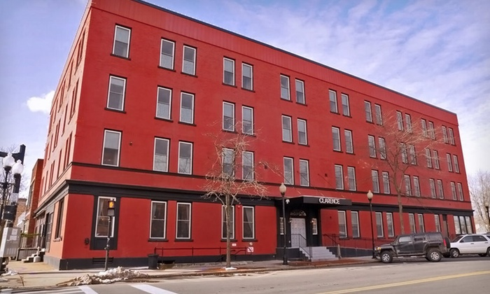 Hotel Clarence - Seneca Falls: One- or Two-Night Stay with a Dining Credit and Options for Drinks at Hotel Clarence in Seneca Falls, NY