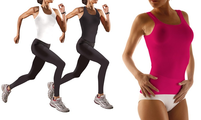 d bardeurs et legging sports anti cellulite mincimax groupon shopping. Black Bedroom Furniture Sets. Home Design Ideas