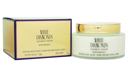 Elizabeth Taylor White Diamonds Body Cream; 250ml