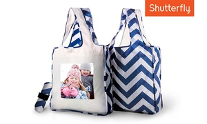 Shutterfly: Custom Reusable Shopping Bag from Shutterfly (Up to 56% Off)