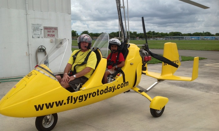 The Gyro Experience LLC - The Gyro Experience LLC: $99 for 45-Minute Introductory Gyrocopter Flight Lesson at The Gyro Experience LLC