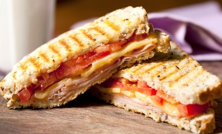 Panini Meal for Two or Four with Soup and Dessert at Sultan's Shawarma (Up to 42% Off)